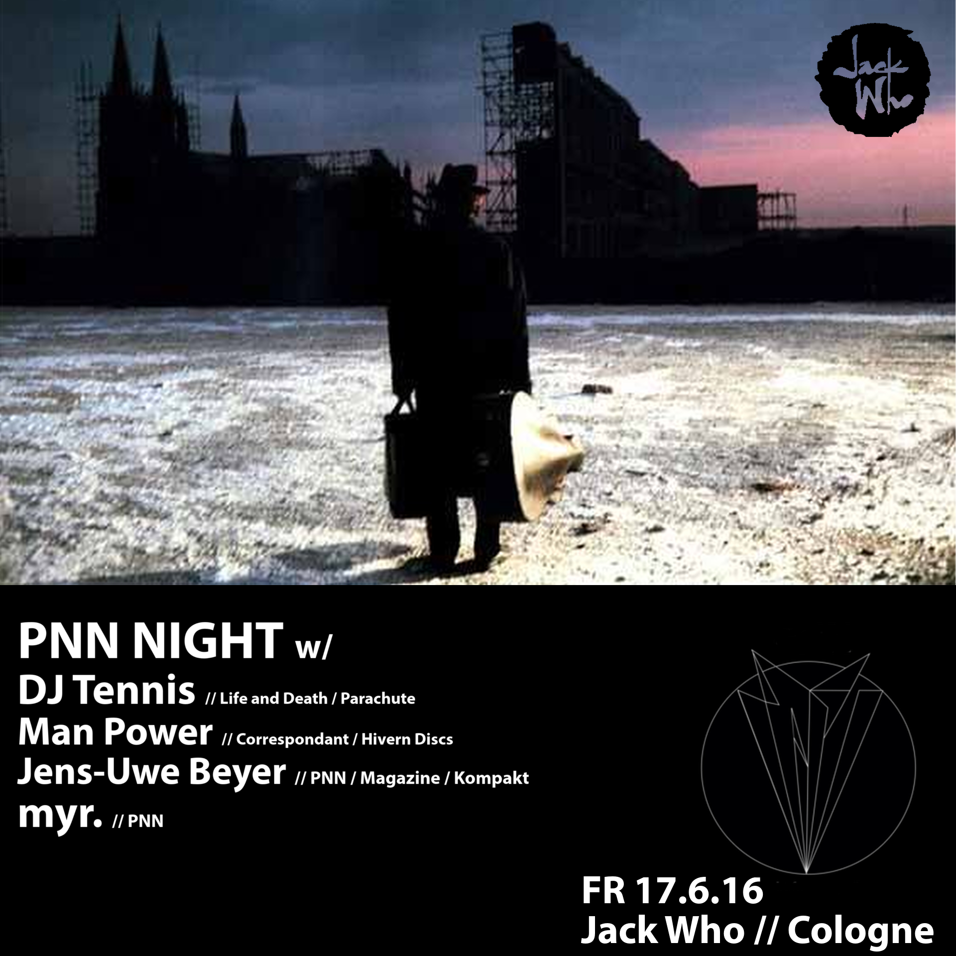 PNN Label Night flyer